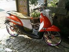 Fino Modifikasi Sederhana by Galeri Foto Hasil Modifikasi Motor Yamaha Mio Fino Terbaru