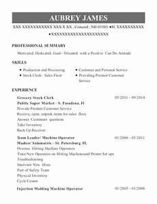 compare foods grocery stock clerk resume sle resumehelp