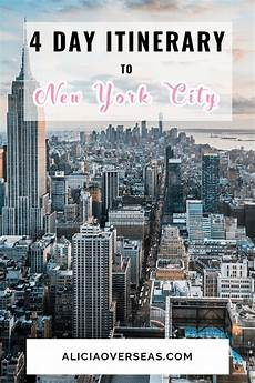 a 4 day new york itinerary mit bildern new