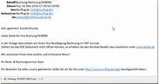 trojanerwarnung buchung rechnung dh80rk