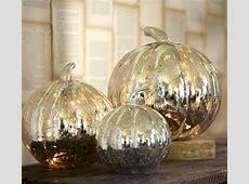 The Silver Lining: Antique Mercury Glass Pumpkins