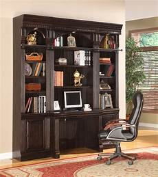 home office library furniture the venezia library desk 3 piece wall office furniture