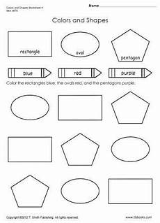 colors shapes worksheets 12808 colors and shapes worksheet 4