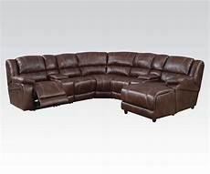 7 sectional sofa brown faux leather sofa