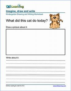 writing composition practice worksheets 22776 free drawing and writing worksheets for preschool kindergarten k5 learning