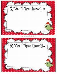 free holiday christmas thank you cards also in new teachers christmas thank you