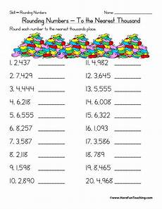 free printable math worksheets on rounding numbers 8132 free rounding worksheets teaching
