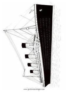 Gratis Malvorlagen Titanic Titanic Gratis Malvorlage In Boote Transportmittel Ausmalen
