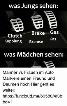 Was Jungs Sehen Clutch Brake Gas Kupplung Bremse Gas Was