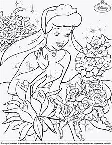 cinderella sings a song from cinderella coloring page