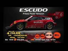 Suzuki Escudo Pikes Peak Specs by Gran Turismo 3 A Spec Test Course Suzuki Escudo Pikes