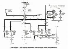 Wiring Diagram For 1989 Ford Ranger by Free Auto Wiring Diagram 1983 1989 Ford Ranger Exterior