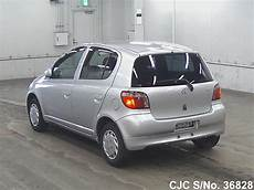 toyota yaris 2000 2000 toyota vitz yaris silver for sale stock no 36828 japanese used cars exporter