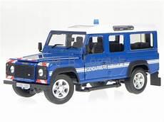 Land Rover Defender 110 Blue Gendarmerie Diecast Model Car