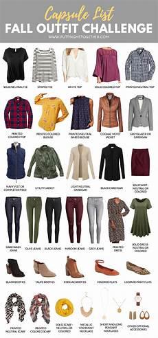 capsule wardrobe fall challenge capsule wardrobe shopping guide