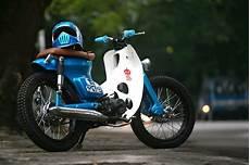 Honda 70 Modif by Cub Otomotif Custom