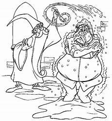 ausmalbild disney die hexe und der zauberer