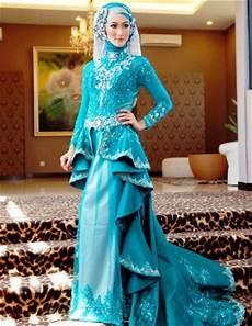 10 Contoh Baju Muslim Model Kebaya Modern Terbaik