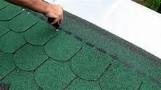 Dach Decken Mit Bitumenschindeln Easily Install Roof
