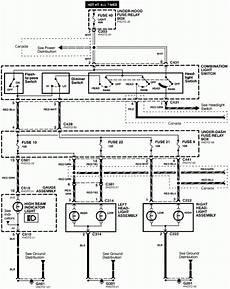 2000 honda civic headlight wiring diagram wiring diagram and fuse box diagram