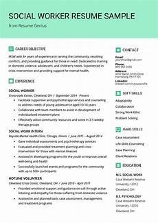 social work resume sle writing guide resume genius