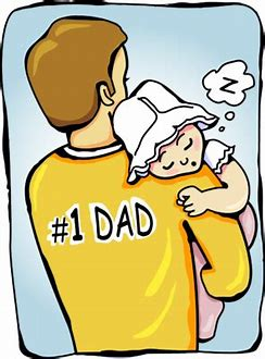 Image result for daddy and child sleeping cartoon