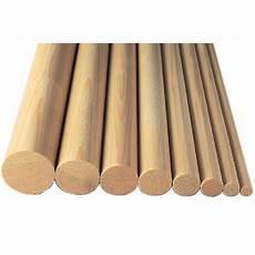 corrimano in legno tondo asta tonda in abete da 19 7 al pz