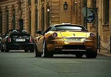 Amazing Gold Plated 599 Gtb Fiorano Most