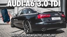 b 214 ser sound im audi a6 3 0 tdi active soundgenerator im