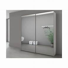 Armoire Rangement Coulissant Portes Coulissantes Miroir