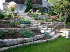 Garten Hanglage Gestalten