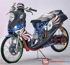 Modifikasi Fino Karbu by Drag Style Matic Motor Motor Yamaha Gambar