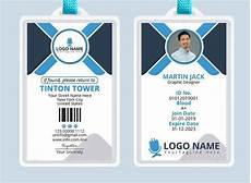 id card template psd free professional office id card template psd titanui