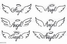 wings lettering heaven wing heavenly winged