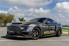 custom 2019 ford mustang stealth boasts 620kw and a lot of carbon