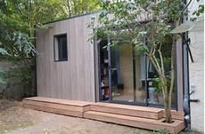 construction abri de jardin en bois pour cr 233 er bureau