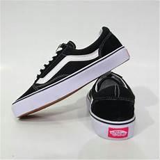 Jual Sepatu Vans Oldskool jual sepatu vans skool black hitam di lapak