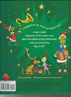 Grinch Malvorlagen Novel The Grinch S Great Big Flap Book Great Big Board Book By