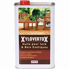 huile bois exotique huile pour teck et bois exotique spado bidon 1 l de