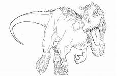 jurassic world coloring pages indominus rex at