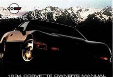 car service manuals pdf 1994 chevrolet caprice user handbook chevrolet corvette 1994 owner s manual pdf online download