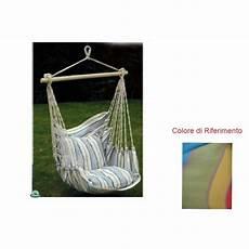amaca a dondolo amaca sedia a dondolo seduta in cotone multicolor amaca da