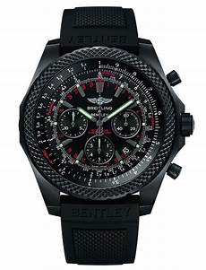 breitling for bentley light midnight carbon uhr