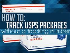 how to track usps without a tracking number