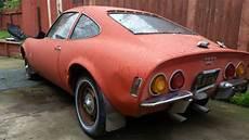 1968 opel gt 2 door coupe vintage car great