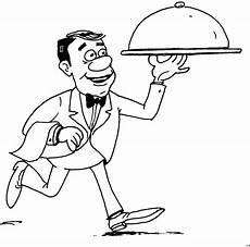 malvorlage kinder restaurant essen wird serviert ausmalbild malvorlage essen und