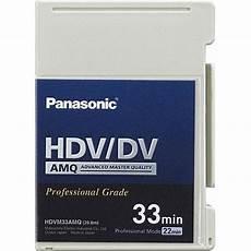 hdv cassette panasonic ay hdvm33amq mini hdv dv dvcam compatible