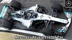 F1 Mercedes 2018 - mercedes officially reveal f1 2018 car