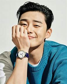 park seo joon esquire korea montblanc watch 1 10 drama milk