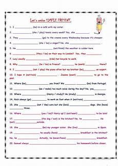 simple present worksheet free esl printable worksheets made by teachers em 2019 exerc 237 cios